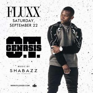 O.T. Genasis, Saturday, September 22nd, 2018