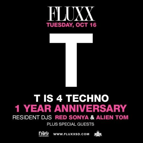 T Is 4 Techno - Fluxx