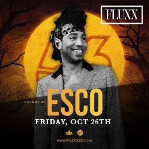 DJ Esco, Friday, October 26th, 2018