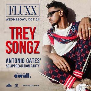 Trey Songz, Wednesday, October 24th, 2018