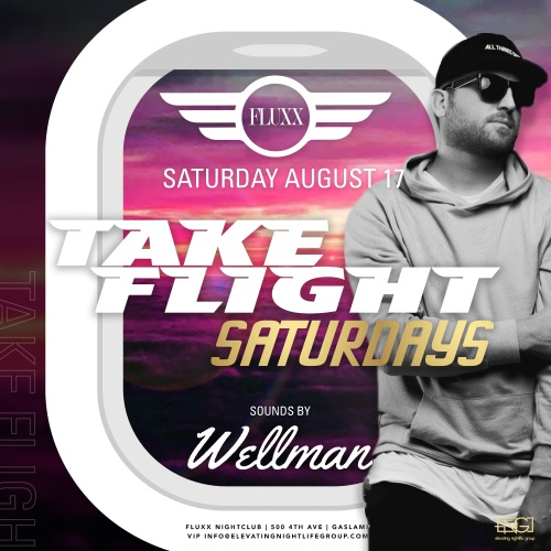 Saturdays at FLUXX w/ Wellman - Fluxx