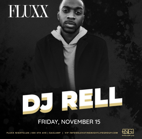 Friday's at FLUXX w/ DJ RELL - Fluxx