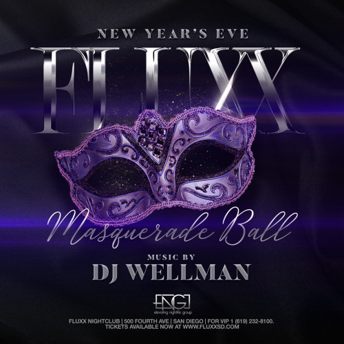 NYE 2020 at FLUXX Nightclub: Masquerade Party - Fluxx
