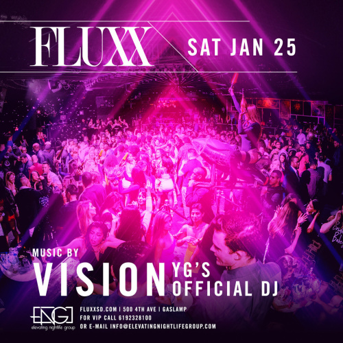 FLUXX Nightclub Presents R&B Sensation Jaquees w/ DJ Vision - Fluxx