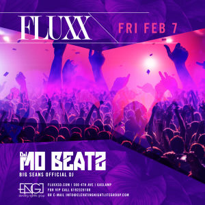FLUXX Nightclub Presents DJ Mo Beats (Big Sean's Official DJ), Friday, February 7th, 2020