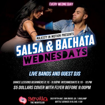 Salsa & Bachata Wednesdays