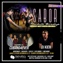 Sabor bachata Thursdays