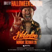 INDUSTRY NIGHT (HALLOWEEN EDITION)