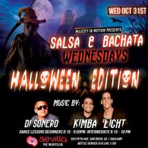 Salsa & Bachata Halloween Edition