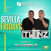 SEVILLA Fridays with DUO TWIINZ