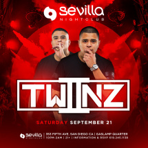 SEVILLA Saturdays with TWIINZ - Ekutz & Kien
