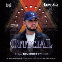 SEVILLA FRIDAYS WITH DUO DJ OFFICIAL