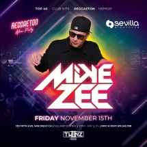 SEVILLA FRIDAYS WITH DJ MIKE ZEE | Reggaeton Glow Party
