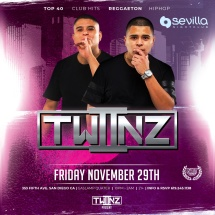 SEVILLA FRIDAYS WITH DUO DJ TWIIZ