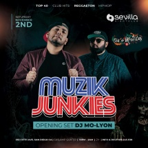 SEVILLA SATURDAYS WITH DJs MUZIK JUNKIES