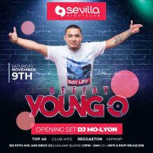 SEVILLA SATURDAYS WITH DJ YOUNG - O