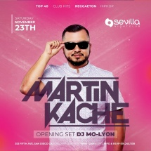 SEVILLA SATURDAYS WITH DJ MARTIN KACHE
