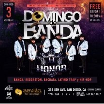 DOMINGOS DE BANDA PRESENTA GRUPO HONOR NORTENO