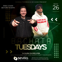Bachata Tuesdays