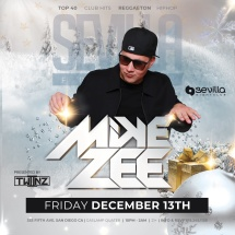 SEVILLA FRIDAYS WITH MIKE ZEE