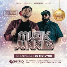 SEVILLA SATURDAYS WITH MUZIK JUNKIES