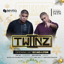 SEVILLA SATURDAYS WITH DUO TWIINZ