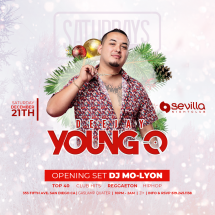 SEVILLA SATURDAYS WITH DJ YOUNG-O