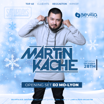 SEVILLA SATURDAYS WITH MARTIN KACHE