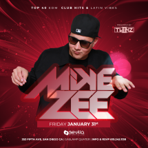 Sevilla Fridays with DJ MIKE ZEE