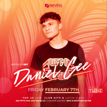 SEVILLA FRIDAYS WITH DJ DANIEL GEE