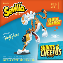 CHEETOS & SHOTS PARTY WITH TWIINZ - Sevilla FRIDAYS