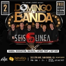 DOMINGOS DE BANDA WITH GRUPO SEIS-N-LINEA