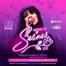SELENA'S TRIBUTE LIVE SHOW - THE QUEEN OF THE TEX-MEX Presented by TWIINZ