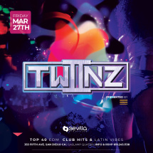 SEVILLA FRIDAYS WITH TWIINZ