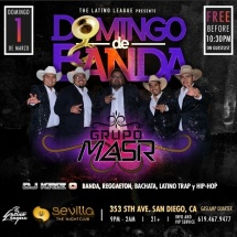DOMINGOS DE BANDA WITH GRUPO MASR