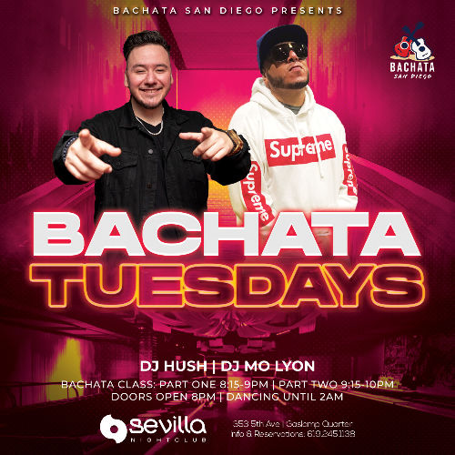 Event: BACHATA NIGHTS | Date: 2021-04-20