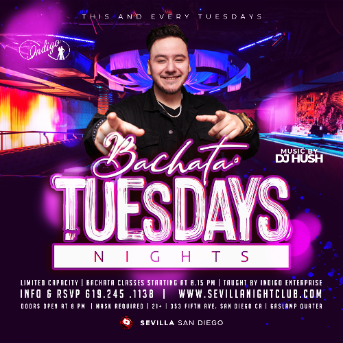Event: BACHATA NIGHTS | Date: 2021-05-18