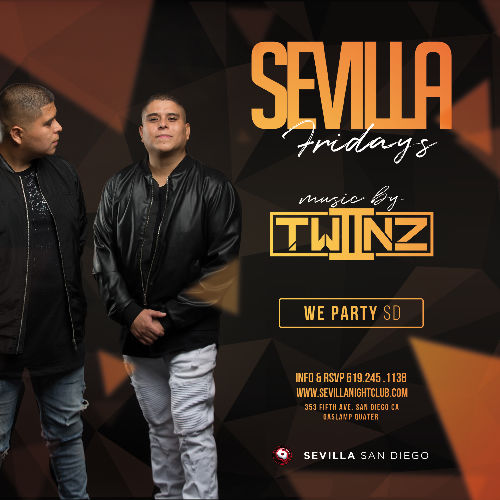 Event: SEVILLA FRIDAYS WITH TWIINZ | Date: 2021-05-28