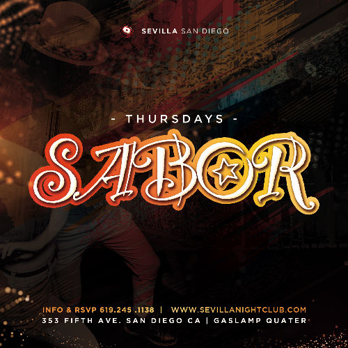 Event: SABOR THURSDAYS | Date: 2021-05-27