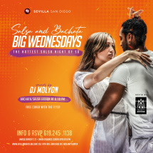 BIG WEDNESDAYS - Salsa & Bachata Nights