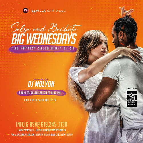Event: BIG WEDNESDAYS - Salsa & Bachata Nights | Date: 2021-05-19