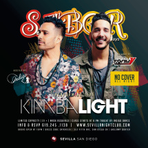 SABOR THURSDAYS -  KIMBA LIGHT Live