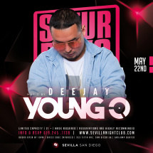 DJ YOUNG-O in the mix Saturday Nights