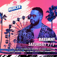 Mercer x Insomniac Events at Bassmnt Saturday 7/7
