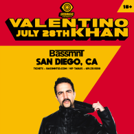 Valentino Khan x Insomniac Events at Bassmnt Saturday 7/28