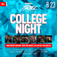 College Night at Bassmnt Trill Thursday 8/23
