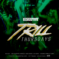 Bassmnt Trill Thursday 8/30