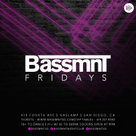Bassmnt Friday 7/13