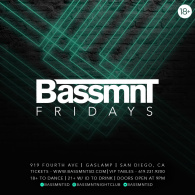Bassmnt Friday 7/20