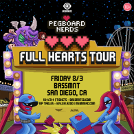 Pegboard Nerds x Insomniac Events at Bassmnt Friday 8/3